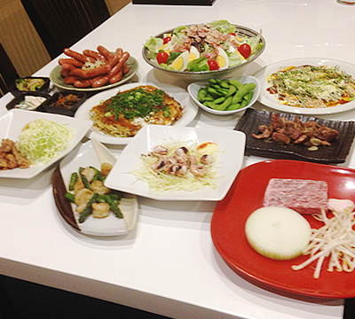 きしま屋5,000円コース(11品)税別 料理のみ: 税別3,500円